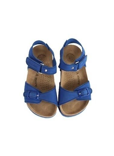 Kids A More Felix Tek Cırtlı Deri Erkek Çocuk Sandalet  Saks